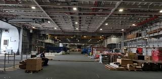 HMS Queen Elizabeth Main Hanger
