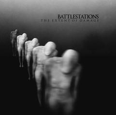 2015_Battlestations_The extent of damage (Marc Wathieu) Tags: rock pop vinyl cover record sleeve music belgium belgië coverart belgique pochette cd indie artwork vinylcover sleevedesign