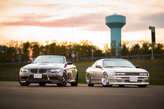 Ambient (brendon_curtis) Tags: canon bmw 93 race racer racing drift drifting high speed sunset bass pro shops foxborough gillette stadium patriots place wheels auto automatic standard