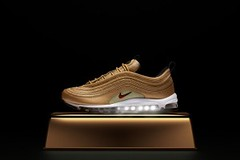 "Nike Air Max 97 ""Metallic Gold"" May 2018 Release Date (eukicks.com) Tags: nike kicks new sneaker releases air max 97"