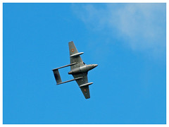 De Havilland Vampire FB.6 (DH-100) - F-AZOO (Aerofossile2012) Tags: dehavilland vampire fb6dh100 fazoo dh100 avion aircraft aviation arméedelair meeting airshow ba702 avord 2016