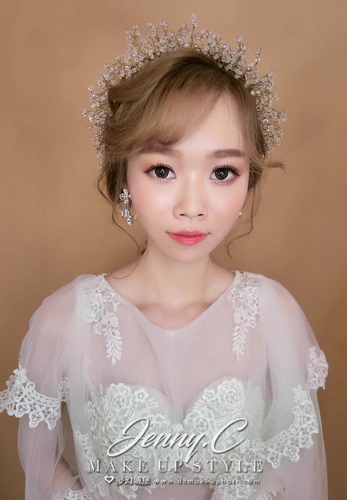 【新秘蓁妮】新娘造型創作 / 韓系編髮造型