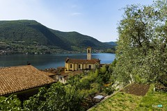 Monte Isola ... lago d'Iseo (capellini.chiara) Tags: iseolake panoramicpoint landscape panoramicview panorama lagoiseo monteisola