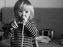 Jakob (livsillusjoner) Tags: boy boys kid kids child children young monochrome bw blackwhite blackandwhite contrast black white grey portrait people play playing toy toys