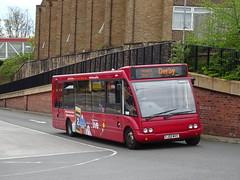 trent barton 471 Mansfield (Guy Arab UF) Tags: trent barton 471 fj09mvv optare solo m920 mansfield bus station nottinghamshire wellglade buses wellgladegroup