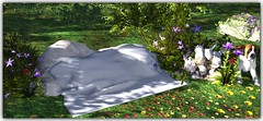 Stay with me blanket (Abi Latzo) Tags: tmcreation treschic events secondlife sl shopping mesh homeandgarden home garden furniture decor plants blanket