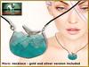 Bliensen + MaiTai - Mare - necklace (Plurabelle Laszlo of Bliensen + MaiTai) Tags: jewelry bliensen secondlife sl whimsical necklace whale owl earrings choker kawaii