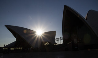 Opera silhouette
