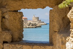 Rhodes, Greece (Lauren Tucker Photography) Tags: beach greece landscape rhodes town view europe kiotari lindos old holiday trip summer spring may 2018 colour weather sun cloud canon 7d slr markii camera photographer photography photograph photo image pic picture copyright allrightsreserved ©laurentuckerphotography sea seaside visit