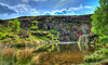 Quarry (jon@alm) Tags: cove quarry pond nature countryside landscape uk england lancashire nationalgeographic hdr nikon d800 sigma33mm