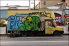 Oker / Lord (Alex Ellison) Tags: oker gsd boxtruck lorry throwup throwie eastlondon whitechapel urban graffiti graff boobs