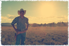 IMG_5084_Fotor Eric (pv photos) Tags: cowboy horse wild west western arizona texas johnny eric sunset
