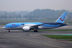 PH-TFM, Amsterdam Schiphol, October 19th 2015 (Southsea_Matt) Tags: phtfm boeing 787800 tui arke october 2015 autumn schiphol ams eham amsterdam holland thenetherlands canon 60d aircraft plane aviation airport transport