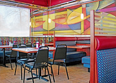 Out to Lunch (tmattioni) Tags: pinehill theeaglediner diner booths ketchup 7dwf freetheme