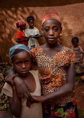 Saware Girls (Rod Waddington) Tags: africa african afrique afrika äthiopien ethiopia ethiopian ethnic etiopia ethnicity ethiopie etiopian wolayta wollaita wollayta tribe traditional tribal saware village girls children reading book house outdoor group school