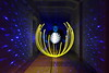 Rebirth of the Light (Sven Gérard (lichtkunstfoto.de)) Tags: lightpainting sooc lightartphotography lightart lichtkunst lichtmalerei light lights lichtkunstfoto longexposure longexpo bulb langzeitbelichtung nightphotography orb broken meyeroptikgörlitz laser blue