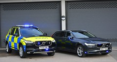 New Police Volvos (S11 AUN) Tags: cumbria constabulary volvo xc90 awd t6 4x4 v90 estate d5 powerpulse unmarked anpr police traffic car rpu roads policing unit arv armed response 999 emergency vehicle px18owr