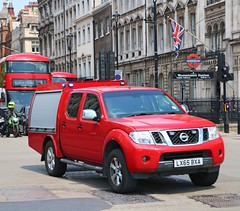 London Fire Brigade - Special Ops - LX65BXA (Waterford_Man) Tags: lx65bxa nissan lfb blues bluelights londonfirebrigade specialops