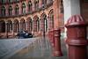 London classics (nzfisher) Tags: classic london 24mm canon stpancras architecture building poles taxi black arch uk cityscape city landscape