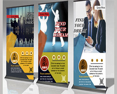 Multipurpose-Roll-Up-Banner (hmrakib.hussain) Tags: banner adds mulitipurpose unique design stationary business