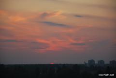 Небо Захід сонця InterNetri Ukraine  17