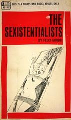 Nightstand Books 1915 - Felix Grubb - The Sexistentialists (swallace99) Tags: nightstandbooks vintage 60s sleaze greenleaf paperback harrybremner bondage