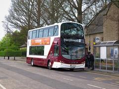 Lothian Buses 1002 (LXZ5384) - 11-05-18 (peter_b2008) Tags: lothianbuses firstlondon towertransit volvo b9tl wright eclipsegemini2 1002 lxz5384 vn37984 bg61sxr edinburgh buses coaches transport buspictures