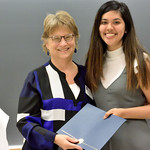 Professor Wendy Heller, Kimberly Galvez-Ortega: Clinical/Community Psychology Outstanding Undergraduate Student Award