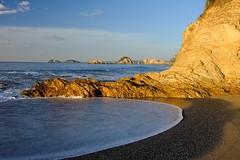 North Head Beach Sunrise (335semi) Tags: australia nsw nationalpark np national park murramarang northhead camping beach sunrise fuji fujixt2