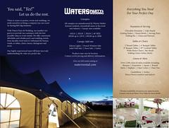 Waters Party & Wedding Brochure (waterstruevalue) Tags: rental party wedding rentals