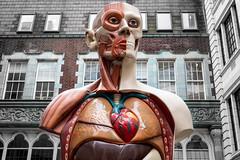 Temple (Sean Batten) Tags: london england uk cityoflondon statue damienhirst art sculptureinthecity nikon df 50mm city urbam limestreet body