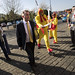 Chlorine chicken protesters meet Liam Fox