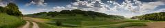 "Riedtwil ""Chaste"" (Thomas Neuhaus) Tags: riedtwil chaste seeberg landschaft panorama oberaargau kantonbern feldweg felder hügel schweiz himmel wolken wolkig cloudy sunshine day"