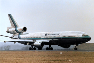 N391EA McDonnell Douglas DC-10-30 cn 47866 ln 149 Eastern Airlines Gatwick 23Feb86