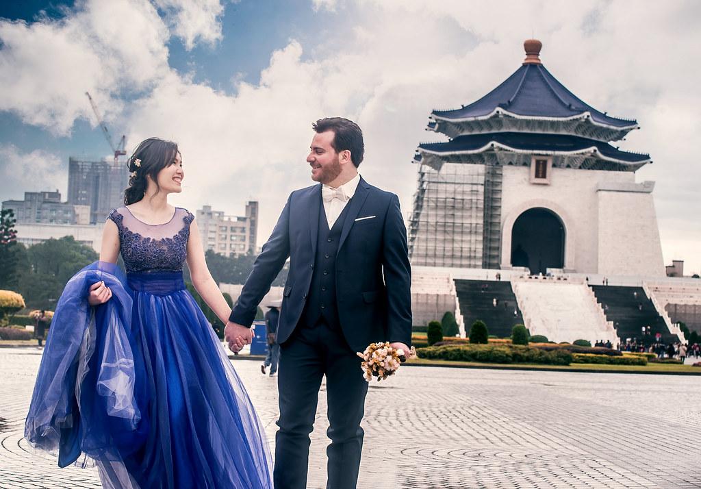 中正紀念堂婚紗,台北,婚紗攝影,台灣必拍景點,婚紗攝影景點