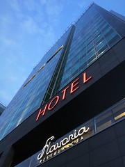 First stop (roomman) Tags: 2018 poland poznan city town weekend visit hotel andersia bbi building skyscraper tall high highrise