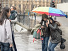 PHOTO-TAKING, HOUSES of PARLIAMENT, LONDON_DSC_8636_LR_2.5 (Roger Perriss) Tags: london photo westminster d750 takingphotos girls housesofparliament rain pavement parliament umbrella camera trafficlights wet raining tourist visitors tourists visitor