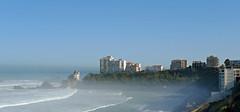 Basque Coast (YellowSingle 单黄) Tags: basque coast côte biarritz atlantic surf longboard vague wave ocean
