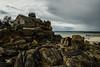 Old Guard House, Beach of Kerfissien, Cleder, Finistère, France. 2018/05/01. (joelgambrelle) Tags: d500 nikon stormy sea cloudy beach coast guardhouse bretagne breizh france finistère