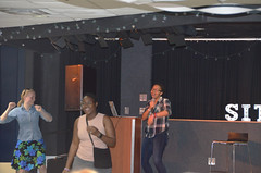 Lit Take-Over Lee/Bigelow (UWW University Housing) Tags: uwwhitewater uww studentlife jitters lifestyle social lit fun karaoke students wellstowers