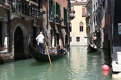 Monday traffic (gImrtn) Tags: gondola venice venezia people traffic building italy sunny boat famous canal water monday