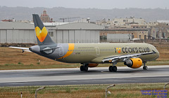 G-TCDV LMML 03-05-2018 (Burmarrad (Mark) Camenzuli Thank you for the 12.2) Tags: airline thomas cook airlines aircraft airbus a321211 registration gtcdv cn 1972 lmml 03052018