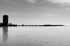 Bridge near Arrecife Gran Hotel (Ronny Darko) Tags: bridge hotel bruecke buildings black white schwarz weiss meer sea ocean pont sightseeing travel spain lanzarote spanien kontrast contrast
