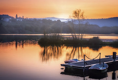 A orillas del Miño (Juan Figueirido) Tags: miño ríomiño galicia lugo ourense río river paisaje boats landscape sunset puestadesol solpor barcas lumix panasonic fz150 panasonicfz150