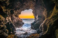 Malibu California Ocean & Beach Sea Cave Sunset! Epic Malibu Long Exposure Fine Art Landscape Seascape HDR Photography! Elliot McGucken Fine Art Photography! Sony A7R II & Carl Zeiss Sony Vario-Tessar T* FE 16-35mm f/4 ZA OSS Lens SEL1635Z (45SURF Hero's Odyssey Mythology Landscapes & Godde) Tags: beach sea cave sunset epic malibu long exposure fine art landscape seascape hdr photography elliot mcgucken sony a7r ii sharp carl zeiss variotessar t fe 1635mm f4 za oss lens sel1635z