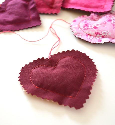 Heart Banner Pink HB005b