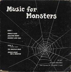 Music For Monsters Back Cover ( Sounds Records ) (Donald Deveau) Tags: record monsters