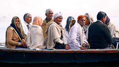 Varanasi..... A Pilgrimage (pallab seth) Tags: makarsankranti varanasi people devotee tradition morning prayer ritual ganga river holydip banaras benaras india ganges religion religious belief traditional culture asia hindu hinduism pilgrimage bathing candid winter women