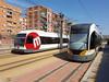 FGV UT 3803 y 4215 (jfabra23) Tags: trenet 3702 uta estrecha vía ferrocarril fgv metrovalencia valencia metro gente tranvias