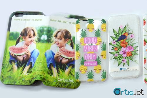Personalized transparent  silicone phone case